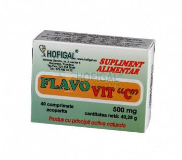 Flavo vit C adult 40 cpr masticabile